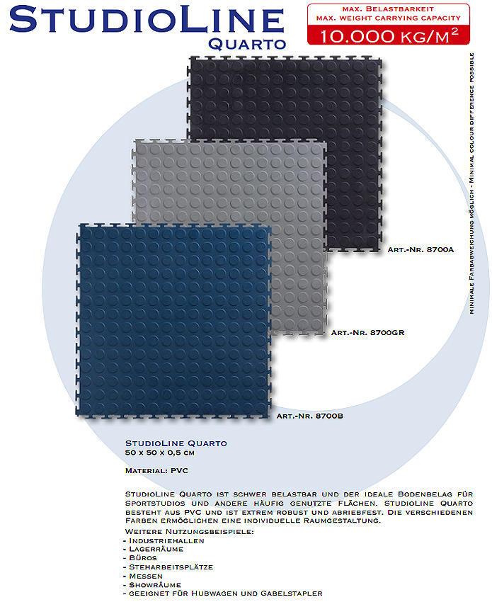 fussbodenbelag f r sportstudio und fitnesscenter in 3 farben lief. Black Bedroom Furniture Sets. Home Design Ideas